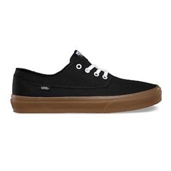 e206d603c689c1 Vans Brigata Gumsole Black Skate Shoes